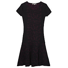 Buy Gérard Darel Ruban Wool Dress, Burgundy Online at johnlewis.com