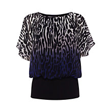 Buy Coast Leo Calla Dip Dye Top, Multi Online at johnlewis.com