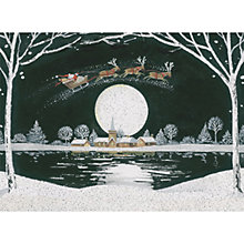 Buy CCA Personalised Christmas Night Charity Christmas Cards Online at johnlewis.com