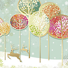 Buy CCA Personalised Contemporary Christmas Landscape Charity Christmas Cards Online at johnlewis.com