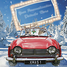 Buy CCA Personalised It's Christmas Charity Christmas Cards Online at johnlewis.com