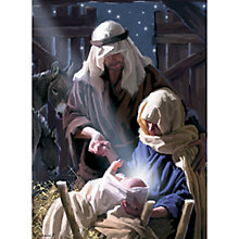 Buy CCA Personalised Joseph and Mary Charity Christmas Cards Online at johnlewis.com