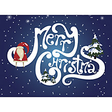 Buy CCA Personalised Merry Christmas Charity Christmas Cards Online at johnlewis.com