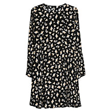 Buy Mango Printed Shift Dress, Medium Beige Online at johnlewis.com