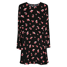 Buy Mango Printed Shift Dress, Bright Red Online at johnlewis.com