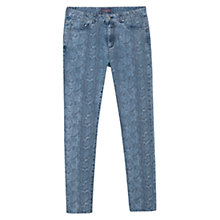 Buy Violeta by Mango Slim-Fit Boah Jeans, Medium Blue Online at johnlewis.com