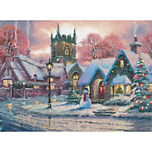 Buy CCA Personalised Snowy Village Charity Christmas Cards Online at johnlewis.com