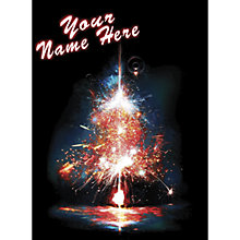 Buy CCA Personalised Sparkler Tree Charity Christmas Cards Online at johnlewis.com