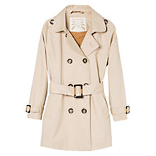 Buy Mango Kids Classic Trench Coat, Beige Online at johnlewis.com