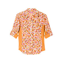 Buy Mango Kids Ribbed Panel Shirt Online at johnlewis.com