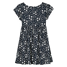 Buy Mango Kids Girls' Short Sleeve Star Print Dress Online at johnlewis.com
