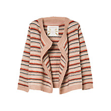 Buy Mango Kids Striped Waterfall Cardigan Online at johnlewis.com