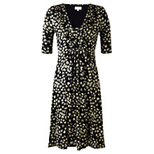 Buy Jigsaw Northern Lights Dress, Black Online at johnlewis.com