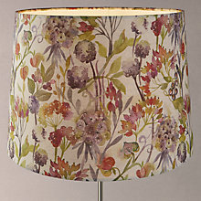 Buy Voyage Autumn Floral Tapered Shade, Natural Online at johnlewis.com