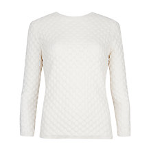 Buy Ted Baker Bobble Stitch Jumper, Cream Online at johnlewis.com
