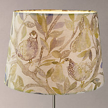 Buy Voyage Partridge Lamp Shade, Natural Online at johnlewis.com