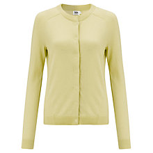 Buy Kin by John Lewis Cotton Cardigan, Lime Online at johnlewis.com