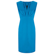 Buy COLLECTION by John Lewis Cotton Sateen Dress, Aqua Online at johnlewis.com