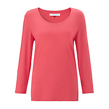 Buy COLLECTION by John Lewis Scoop Neck Top, Canteloupe Online at johnlewis.com