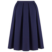 Buy COLLECTION by John Lewis Pique Skirt, Navy Online at johnlewis.com