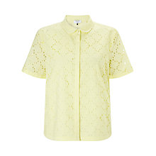 Buy COLLECTION by John Lewis Broderie Shirt Online at johnlewis.com