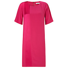 Buy COLLECTION by John Lewis Satin Detail Dress, Pink Online at johnlewis.com