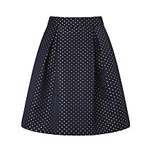 Buy Somerset by Alice Temperley Sail Boat Jacquard Skirt, Blue Online at johnlewis.com