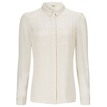Buy Somerset by Alice Temperley Two Pocket Shirt, Cream Online at johnlewis.com