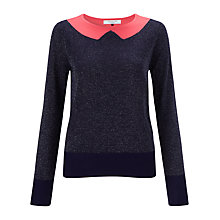 Buy COLLECTION by John Lewis Sequin Collar Jumper Online at johnlewis.com