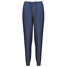 Buy Kin by John Lewis Drawstring Trousers, Indigo Online at johnlewis.com