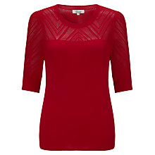 Buy Somerset by Alice Temperley Pointelle Knit Top Online at johnlewis.com