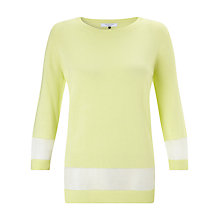 Buy COLLECTION by John Lewis Fine Knit Jumper, Lime Online at johnlewis.com