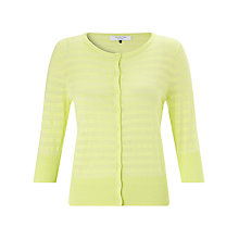 Buy COLLECTION by John Lewis 3/4 Striped Jumper Cardigan Online at johnlewis.com
