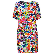 Buy COLLECTION by John Lewis Painted Floral Dress, Multi Online at johnlewis.com