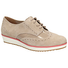 Buy Clarks Compass Realm Suede Brogues, Shingle Online at johnlewis.com