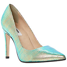 Buy Dune Aonda Pointed Toe High Heel Leather Court Shoes Online at johnlewis.com