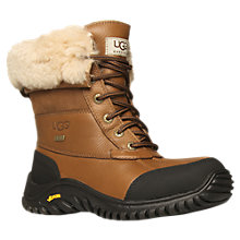 Buy UGG Adirondack Waterproof Leather Sheepskin Boots, Tan Online at johnlewis.com