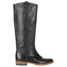 Buy Jigsaw Bloomsbury Leather Knee High Boots Online at johnlewis.com