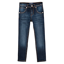 Buy Mango Kids Boys' Regular Fit Denim Jeans, Ink Blue Online at johnlewis.com