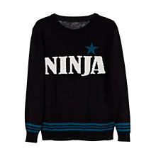 Buy Mango Kids Boys' Ninja Jumper Online at johnlewis.com
