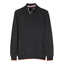 Buy Mango Kids Boys' Elbow Patch Knit Jumper Online at johnlewis.com