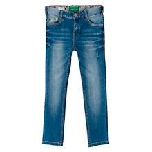 Buy Mango Kids Boys' Slim-Fit Denim Jeans, Blue Online at johnlewis.com