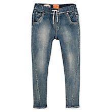 Buy Mango Kids Boys' Comfy-Fit Denim Jeans, Blue Online at johnlewis.com