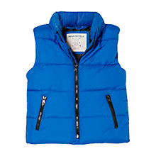 Buy Mango Kids Boys' Padded Gilet Online at johnlewis.com