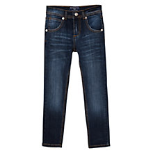 Buy Mango Kids Boys' Regular Fit Denim Jeans, Dark Online at johnlewis.com