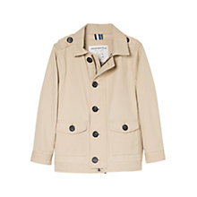Buy Mango Kids Boys' Cotton Blend Canvas Jacket Online at johnlewis.com
