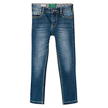 Buy Mango Kids Boys' Slim Fit Jeans, Blue Online at johnlewis.com