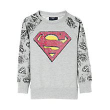 Buy Mango Kids Boys' Comic Print Sweatshirt Online at johnlewis.com