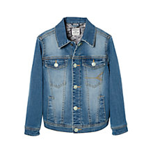 Buy Mango Kids Boys' Denim Jacket, Medium Blue Online at johnlewis.com