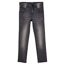 Buy Mango Kids Boys' Regular-Fit Denim Jeans, Dark Grey Online at johnlewis.com